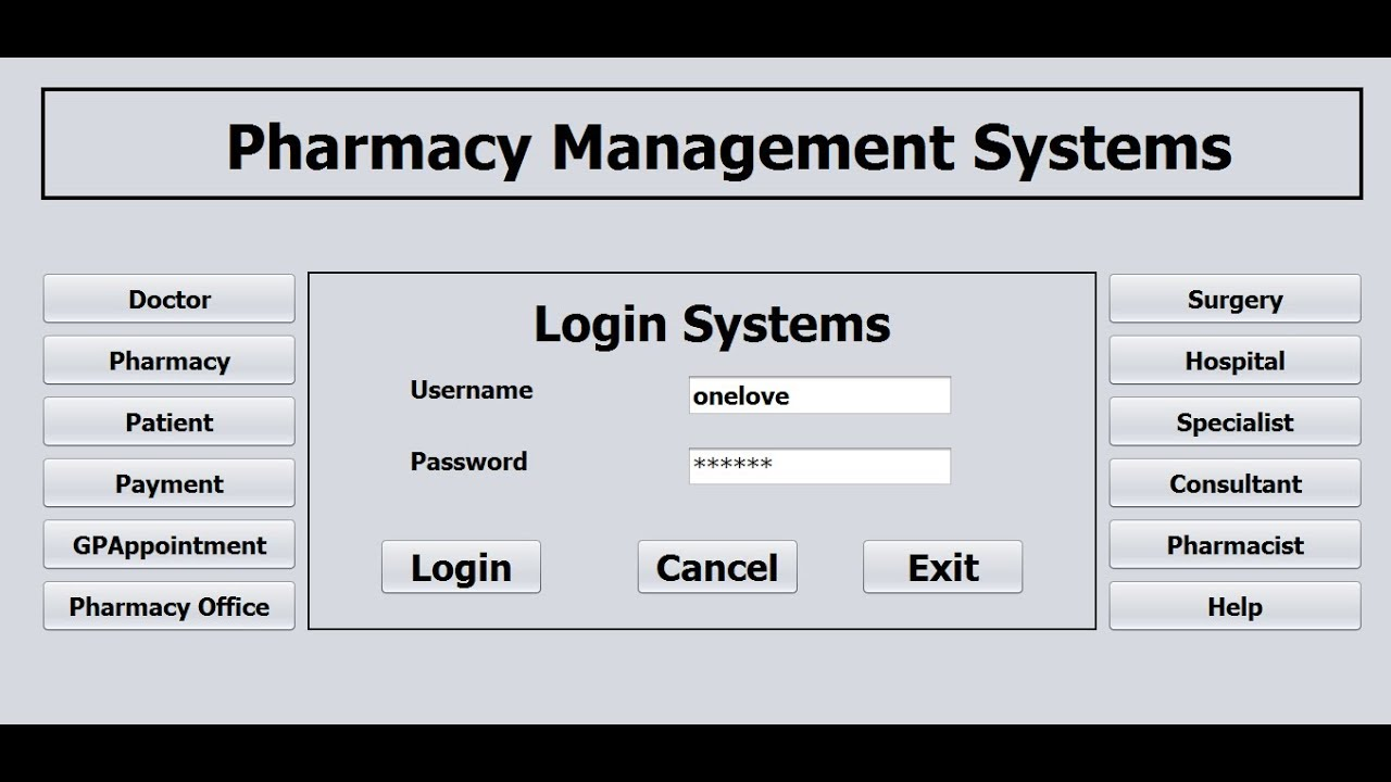 How to Create Pharmacy Management System in Java NetBeans - Part 1 of 3 by  DJ Oamen