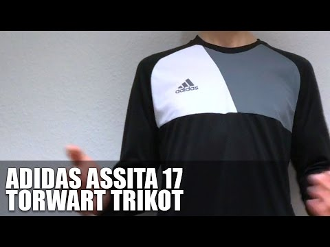 ea465ce92 Adidas Assita 17 GK Torwart Trikot (Goalkeeper Jersey) - YouTube