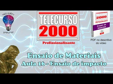 Telecurso 2000 ensaios de materiais