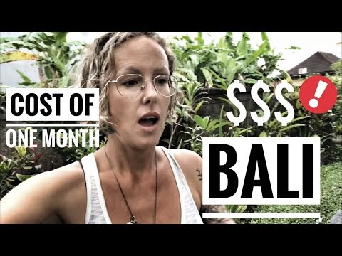 HOW MUCH DOES IT COST US TO LIVE IN BALI?