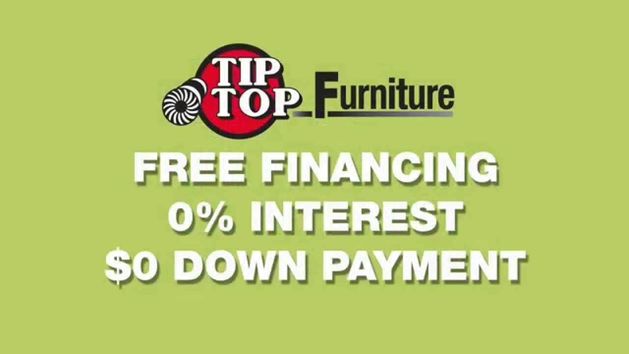 Tip Top Furniture Refurnish With Your Refund