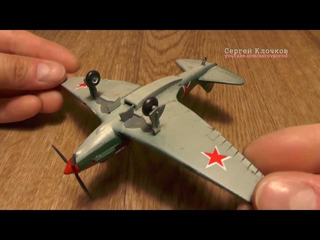 Сборка модели МиГ-3 - Звезда 1:72