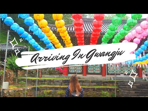 Exploring South Korea: Arriving in Gwangju