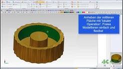 3D Druck - Konstruktion mit MegaCAD 2020
