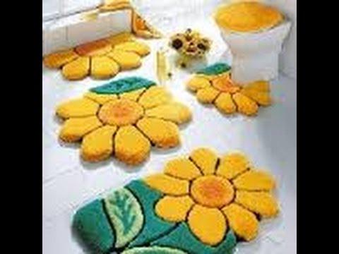 tapis salle de bains originaux - YouTube
