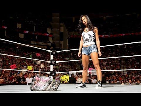 AJ LEE RENUNCIA A WWE