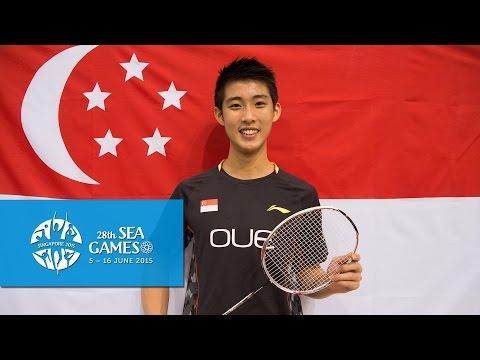 BADMINTON - Loh Kean Yew, Singapore badminton player