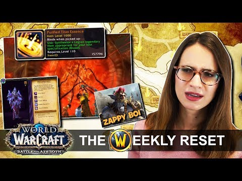 Buying Your Next Legendary, The End Of Artifacts & Allied Race Release Date Hell! Warcraft News