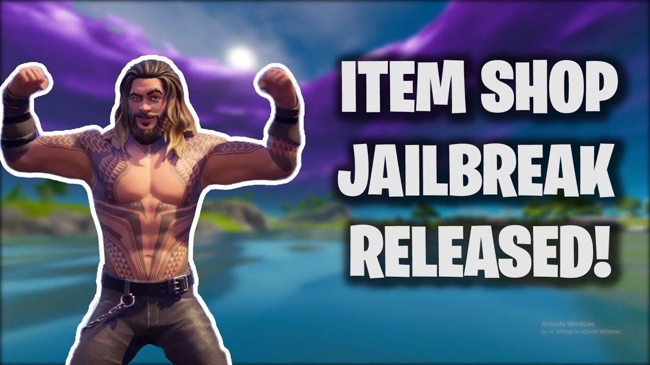 Fortnite ITEMSHOP JAILBREAK is out! (FIRST EVER)