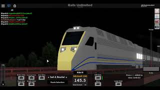ROBLOX: rails unlimited new trains and updates