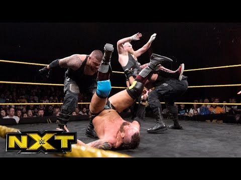 SAnitY vs. The Authors of Pain - NXT Tag Team Championship Match: WWE NXT, Nov. 1, 2017