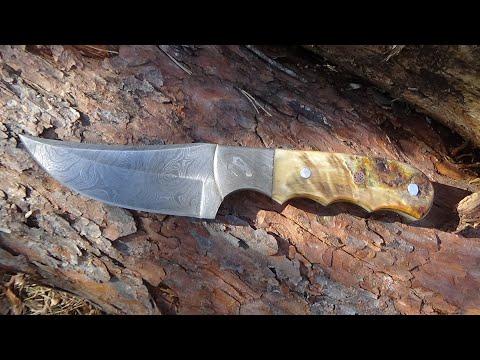 Wild Turkey Handmade Hunting Knife