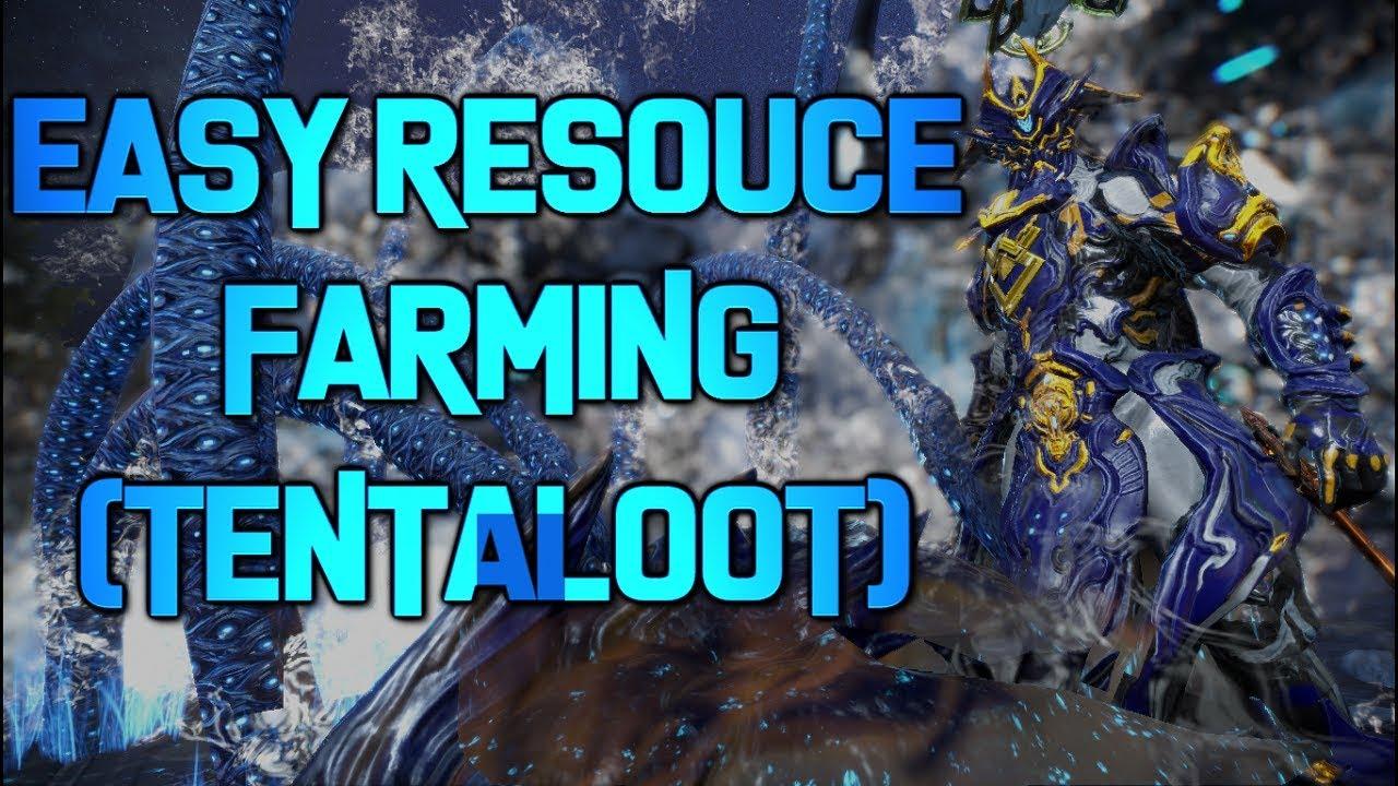 warframe resource farming 2018