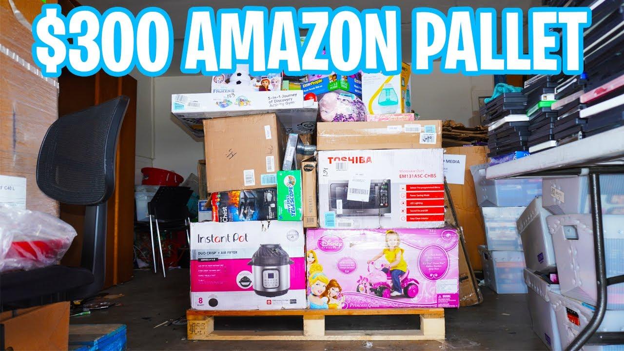 Amazon Return Pallets Germany