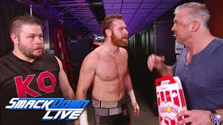 Shane McMahon gloats to Kevin Owens & Sami Zayn: SmackDown LIVE, Feb. 27, 2018
