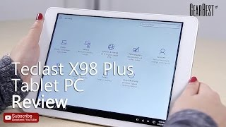 Gearbest Review Teclast X98 Plus Windows 10 Android 5 1 Tablet PC Review - Gearbest com