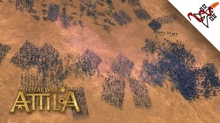 Total War: Attila - 2500 Romans vs 15000 Barbarians | MASSIVE Battles