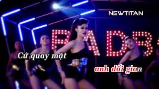 Bad boy - Đông Nhi Karaoke