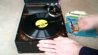 The Little Gingerbread Man - 78rpm gramophone record 1949
