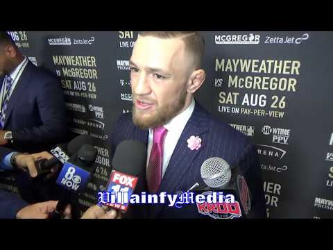 "LOL MCGREGOR CLOWNS CANELO'S FOOTWORK; MAYWEATHER'S ""BRITTLE"" HANDS GET SORE IN COLD"