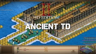 Ancient Tower Defense - Spanish | Age of Empires 2 HD Custom Scenario