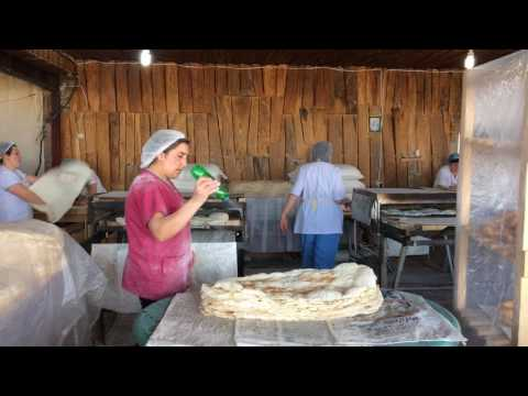 Армянский лаваш. Как делают армянский лаваш в небольшом предприятии