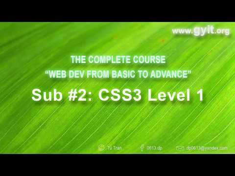 [CSS Cơ bản] Bài 11: Positions