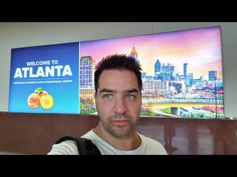 Escala En Atlanta, Que Ver Y Hacer? Cuanto Tiempo?