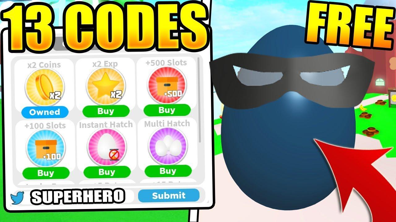 roblox superhero simulator codes 2019