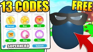 13 SUPERHERO PET CODES IN PET PARADISE SIMULATOR (Roblox)