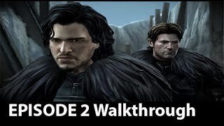 Game of Thrones - Telltale Games - Episode 2 Full Walkthrough NO Commentary