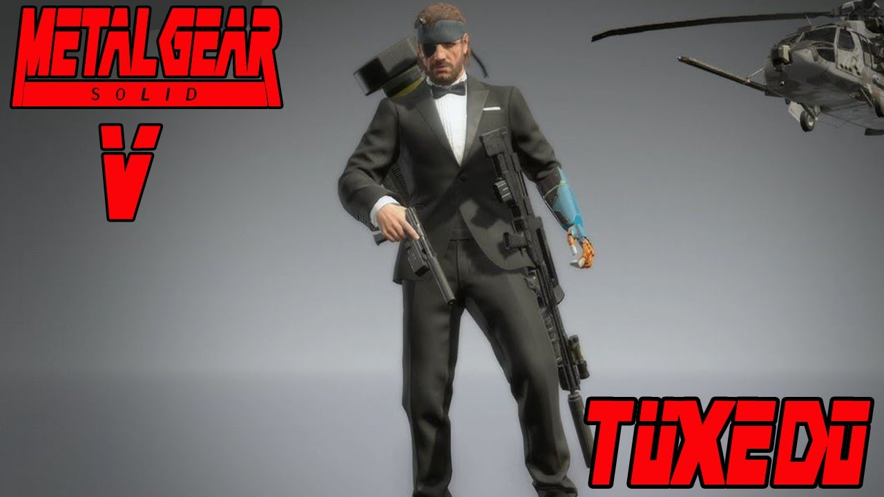 Downloadable costumes for Metal Gear Solid V: The Phantom