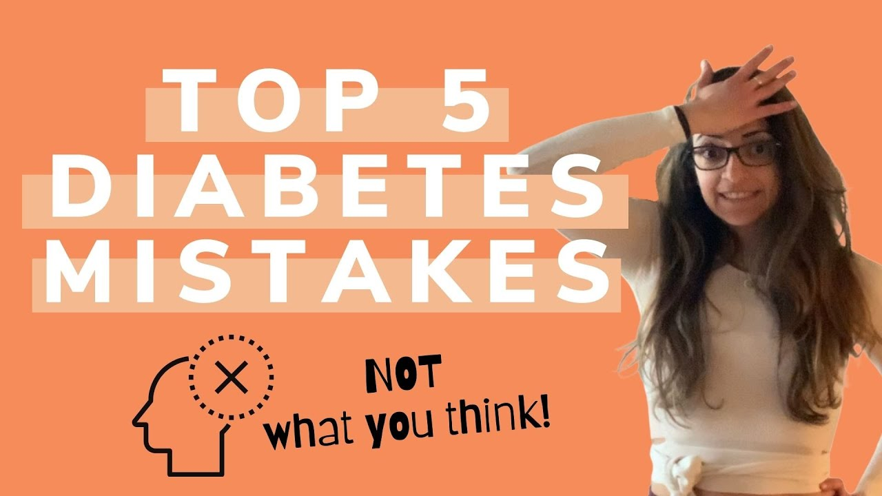 Don't make these 5 diabetes mistakes ⛔️ *It's not what you think!*