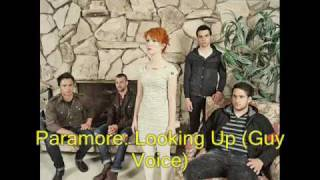 Paramore Looking Up GUY VOICE