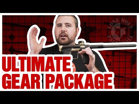 Best 2019 Ultimate High End Paintball Gear Package For Tournament Speedball