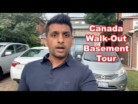 Basement Apartment Tour In Canada