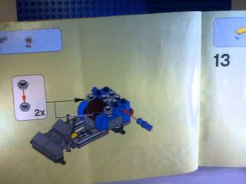lego alien conquest instructions