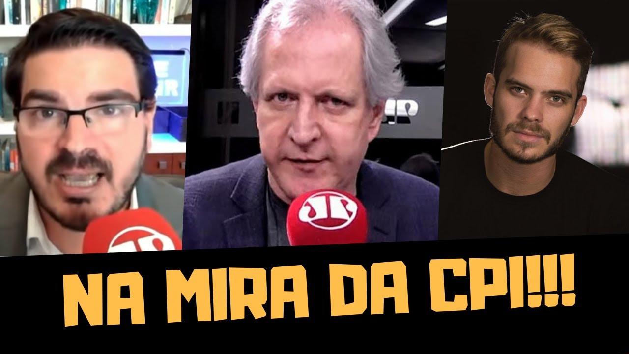 JOVEM PAN E BRASIL PARALELO NA MIRA DA CPI?!!!