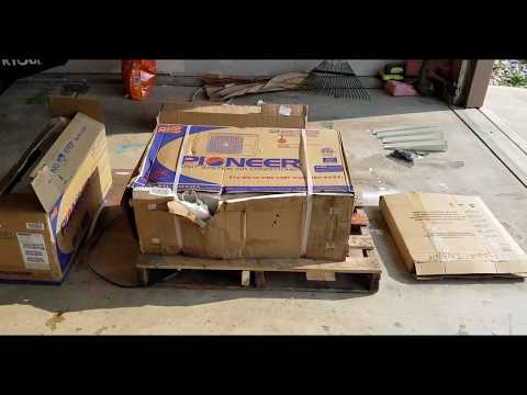 DIY mini split compressor in basement Part 1