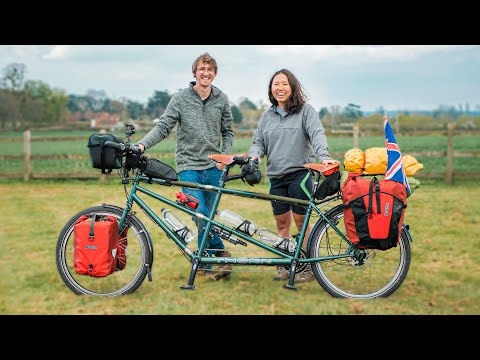 1000km on a Tandem Bicycle! | Ep.1 | Cycling England's Hilliest Coastline thumbnail