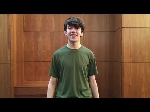 Elijah Beyer   2018 Baldwin Wallace Music Theater Overatures Audition Part 1