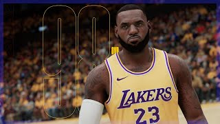 NBA 2K21 Next Gen LeBron and Davis Ratings Revealed!