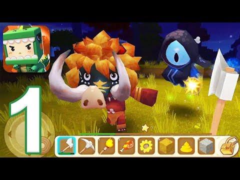 Mini World Block Art  Gameplay Walkthrough Part 1 iOS