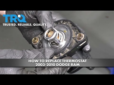 How to Replace Thermostat 2003-10 Dodge RAM