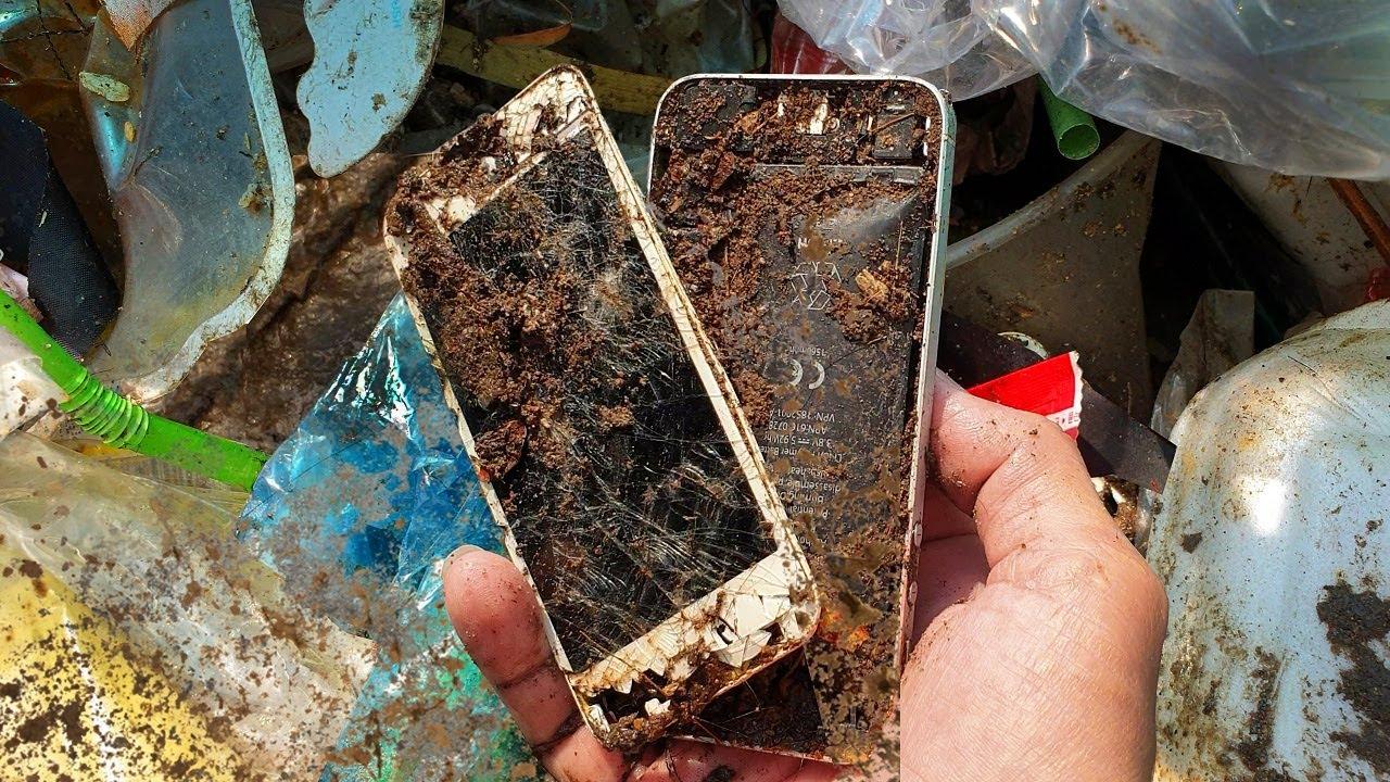 Restoration destroyed abandoned phone | Restore iPhone 5 | Rebuild broken phone