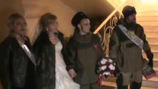 Свадьба ополченца Кипиша в Луганске ч.15