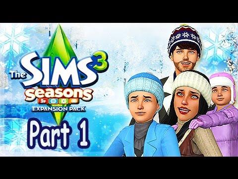 Let's Play: The Sims 3 Seasons - (Part 1) - Create A Sim