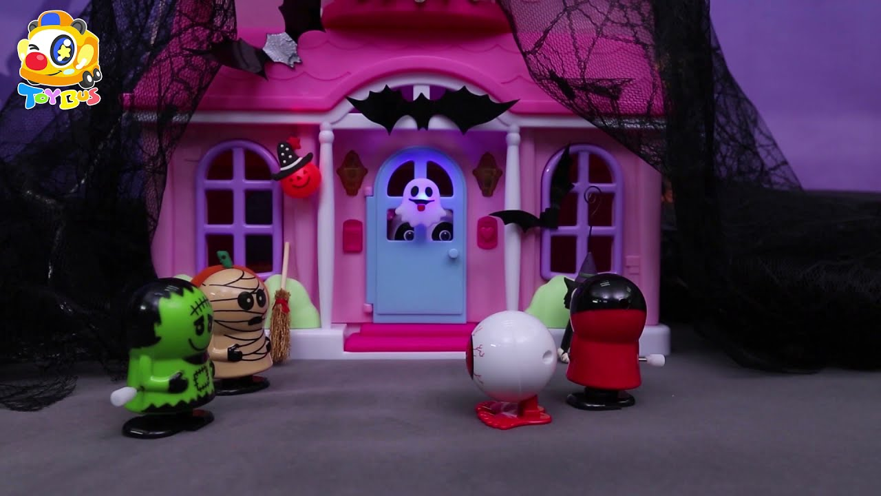 The Story Show   Halloween Candy🎃🍬   Trick or Treat🍭   ToyBus