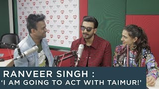 Download Video Ranveer Singh : 'I am going to act with Taimur!' MP3 3GP MP4