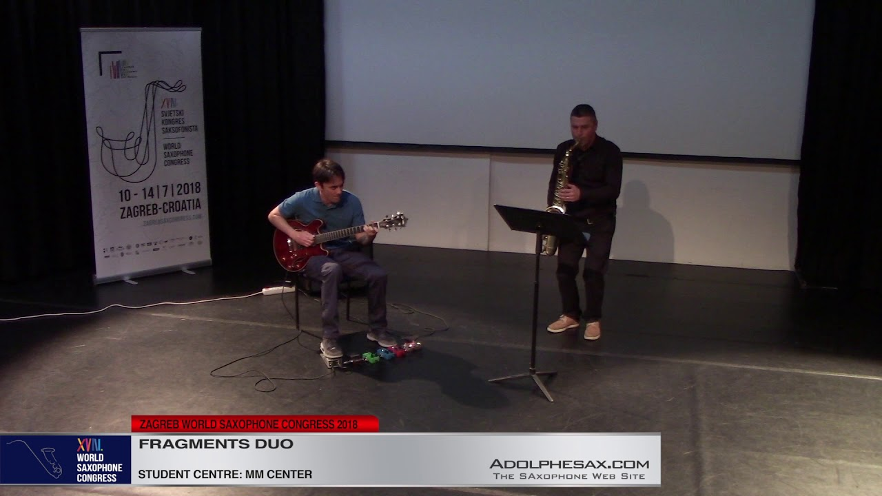 Shorter Stack by Rich Patittuci    Fragments DUO   XVIII World Sax Congress 2018 #adolphesax